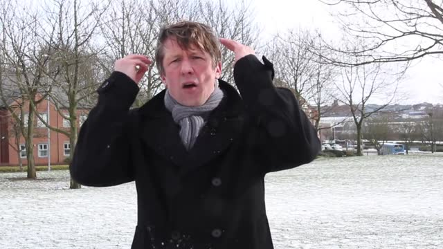 spoof newsman jonathan pie joined the rest of the uk on march 3 in wishing that snowy conditions, which had plagued the country for the previous... - enjoyment stock videos & royalty-free footage