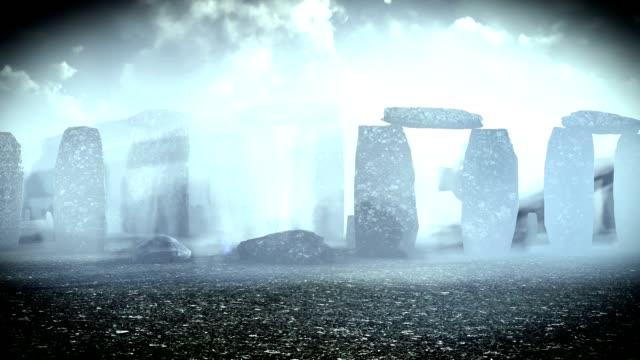 spuk celtic cementary - symbol stock-videos und b-roll-filmmaterial