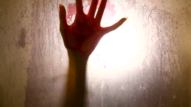 spooky hand (shadows) - killing stock videos & royalty-free footage