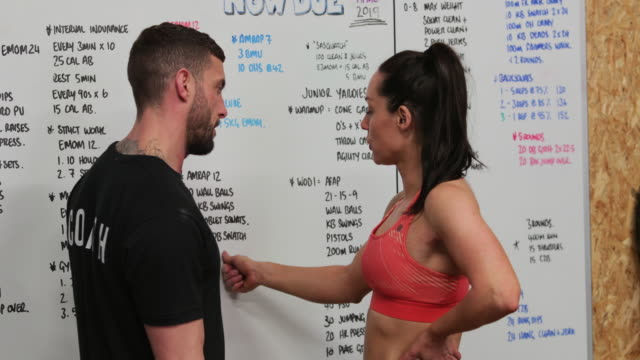 sport instructors at work - whiteboard stock videos & royalty-free footage