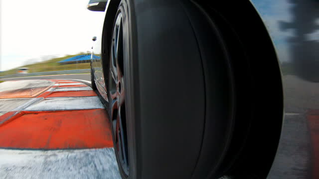 sports car racing, driving the perfect racing line - accelerator pedal stock videos & royalty-free footage