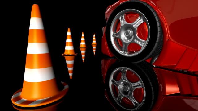 スポーツ車を表示 - 横滑り点の映像素材/bロール