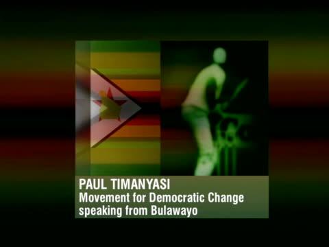 Cricket World Cup Boycott Call ITN Bulawayo Paul Timanyasi phono SOT In Zimbabwe it's not cricket in Zimbabwe it's politics