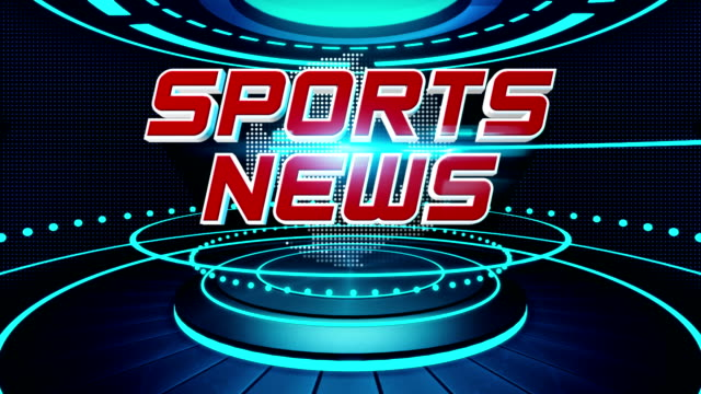 sports news interlude - the media stock videos & royalty-free footage
