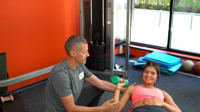 sports training with personal trainer - customised stock videos & royalty-free footage