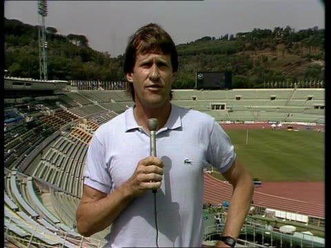world athletics championship italy rome interview sof no i think its the world champion - world sports championship stock videos & royalty-free footage
