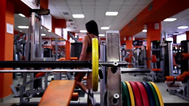 Sportliche Frau in Fitness