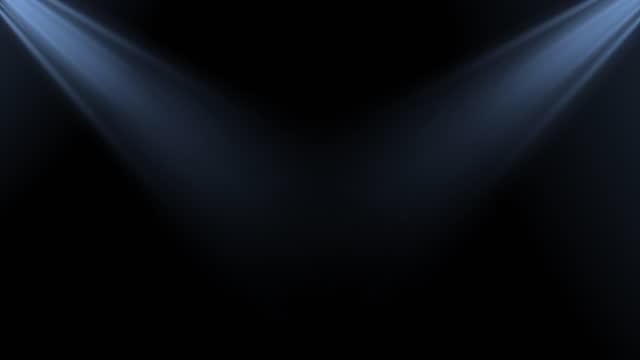 stockvideo's en b-roll-footage met 4k spot lights achtergrond zwart en blauw stock video - gala