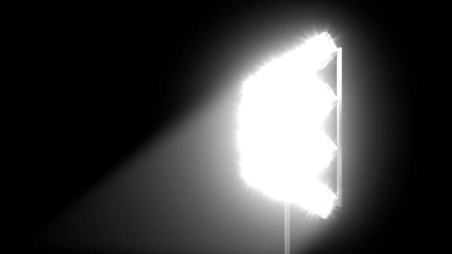 stockvideo's en b-roll-footage met spot lights background - spotlicht elektrisch licht
