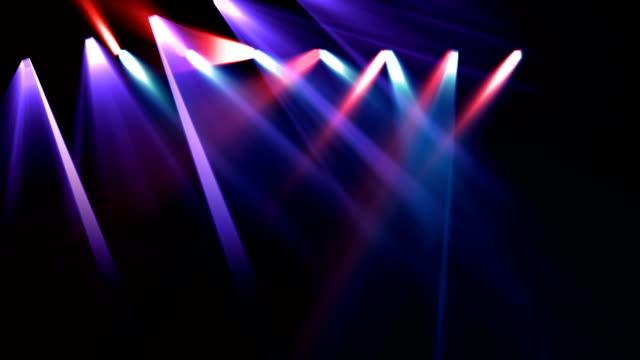spotlight lighting technique - music video stock videos and b-roll footage