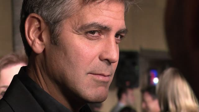 spotlight on george clooney - george clooney stock videos and b-roll footage