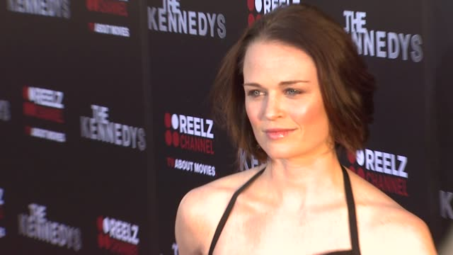 Sprague Grayden at the The ReelzChannel World Premiere Of 'The Kennedys' at Beverly Hills CA