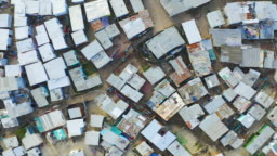 Sprawling townships of South Africa