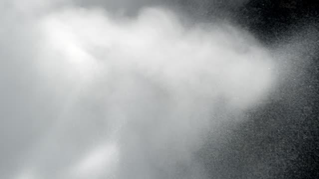 Spray from erupting geyser.