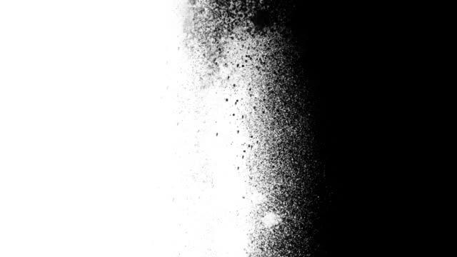 spray paint airbrush transition straight - graffito stock-videos und b-roll-filmmaterial