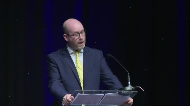 paul nuttall apologises for hillsborough claim ukip spring conference paul nuttall apologises for hillsborough claim england greater manchester... - bolton greater manchester stock videos and b-roll footage