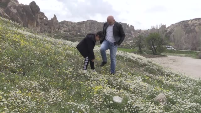 Spring in Cappadocia a tourist hub in central Turkey is a treat for the eyes The region is famous for its unique fairy chimney volcanic cones valleys...