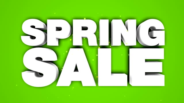 spring sale animation - sale stock videos & royalty-free footage