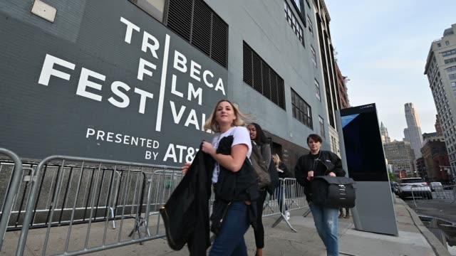 spring studios - 2019 tribeca film festival on april 30, 2019 in new york city. - tribeca festival stock videos & royalty-free footage
