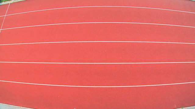 vidéos et rushes de grue haute définition: sprint - compétition