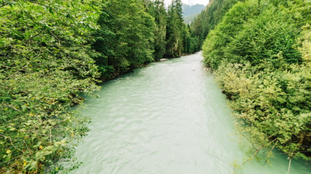 Squamish, BC, Riverside, Travel and time-lapse through Canada