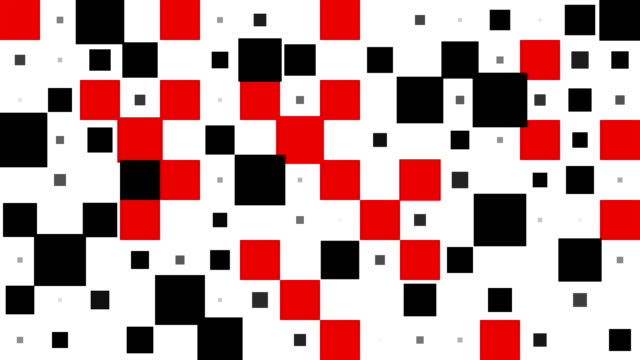 Schachbrett-Muster: Plätze, chaotisch Fortschritte, schließlich verschwinden (ÜBERLEITUNG)