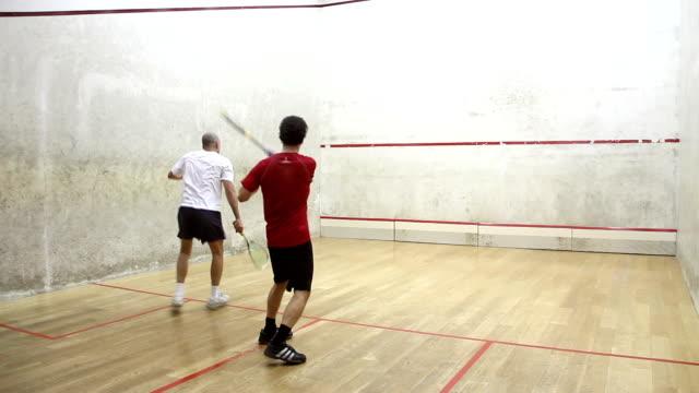 squash - squash sport stock videos & royalty-free footage