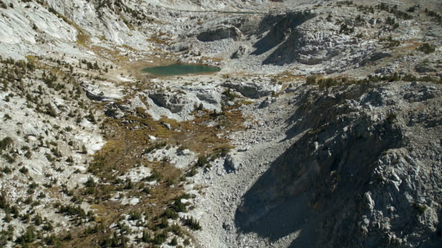 squaw lake and warrior lake in the john muir wilderness area, one of the sites on the pacific crest and john muir trails, sierra nevada, california. - wilderness area stock videos & royalty-free footage