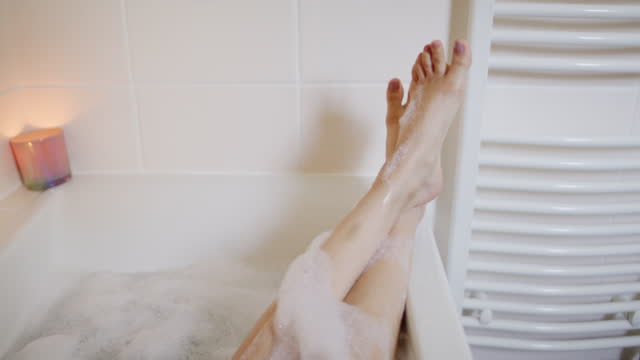 squeaky clean from head to toe - pedicure stock videos & royalty-free footage