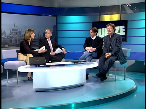 london gir int * * music 'cool for cats' heard over the following shots sot * * chris difford and glenn tilbrook interview sot talk about universal... - itv london tonight点の映像素材/bロール