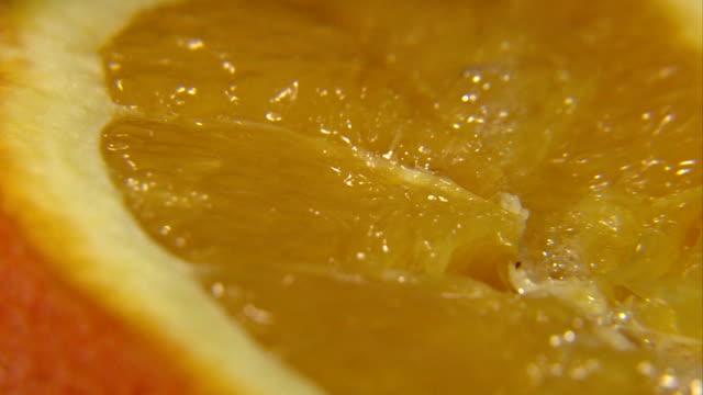 vidéos et rushes de presser le jus d'orange - presser