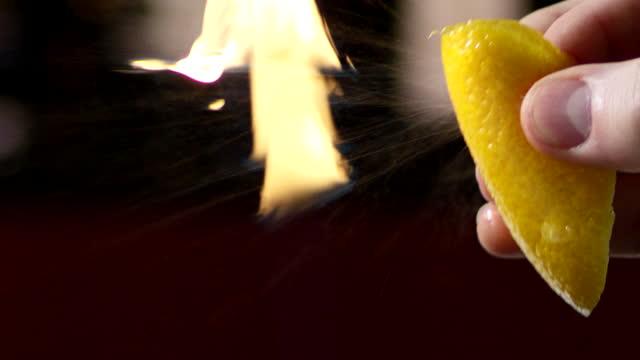 squeezing lemon - citrus fruit stock videos & royalty-free footage