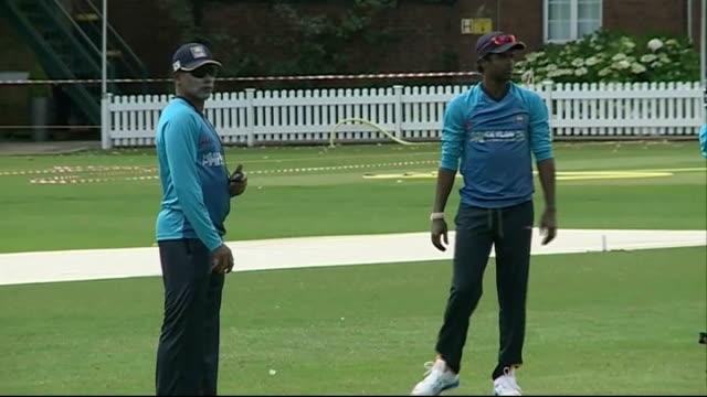 London Lords EXT Sri Lanka Cricket team practice