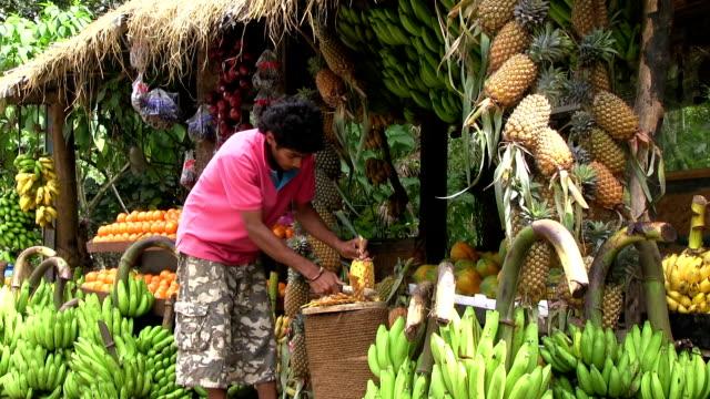 スリランカカティングパイナップル
