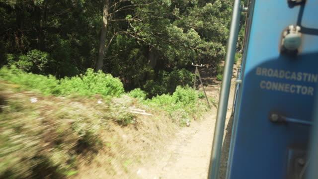 sri lanka famous and iconic train to ella - sri lankan culture stock videos & royalty-free footage