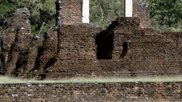 sri lanka old ruin - sri lanka stock videos & royalty-free footage