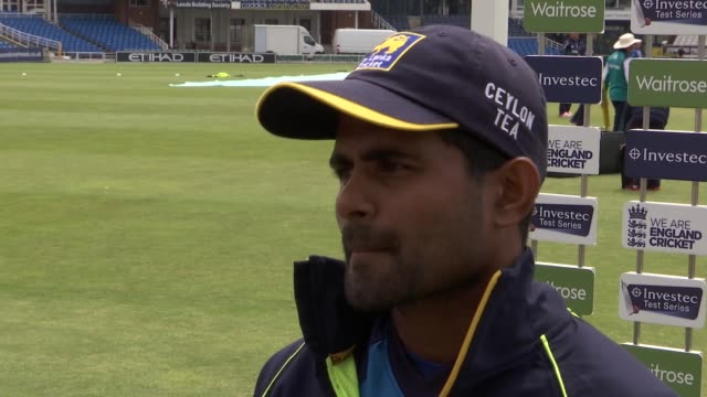 sri lankan batsman kaushal silva interview / england net practice prior to england vs sri lanka test match sri lankan batsman kaushal silva interview... - international match stock videos & royalty-free footage