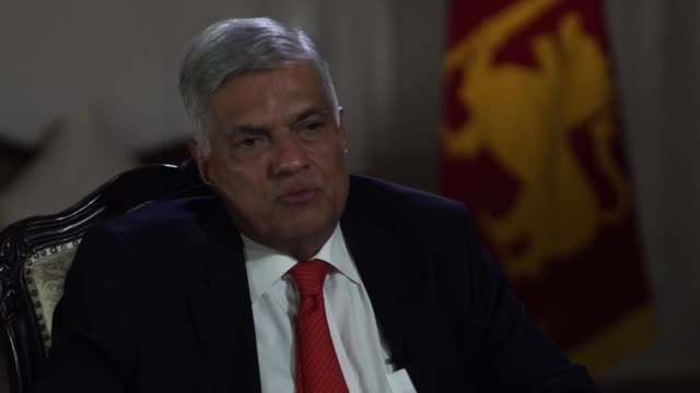 sri lankan prime minister ranil wickremesinghe saying it is up to tourists to decide if they want to visit sri lanka in the wake of the terror attacks - sri lankan flag stock videos & royalty-free footage