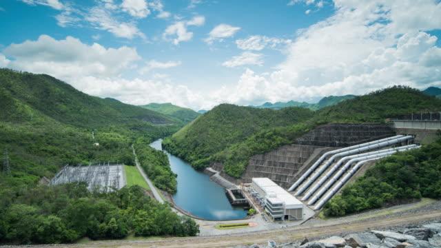 Srinagarind Dam, Hydroelectric Power Station at Kanchanaburi Province, Thailand