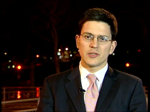 sschool tables released: most improved school; itn england: london: ext / night david miliband mp interview sot - the government is clear that... - performance improvement stock videos & royalty-free footage