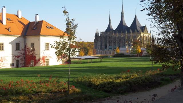 St. Barbara's Church in Kutná Hora in Bohemia