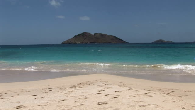 St Barth, amazing view of the beach
