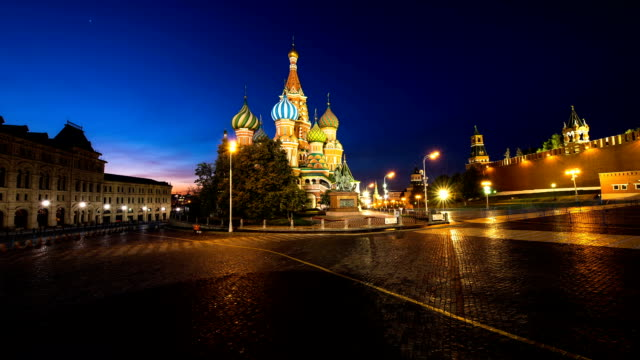 st basil's cathedral in moscow. - onion dome stock videos and b-roll footage