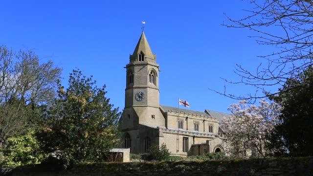 St Botolphs Church, Helpston village, Cambridgeshire, England.