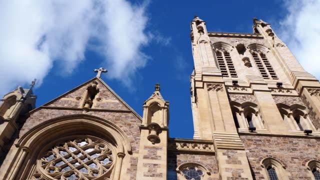 セントフランシスザビエル大聖堂 - アデレード、オーストラリア - アデレード点の映像素材/bロール