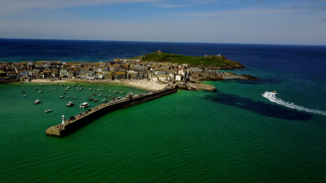 st ives, united kingdom - cornwall england stock videos & royalty-free footage