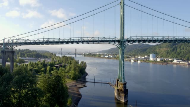 St. John's Bridge in Portland Oregon