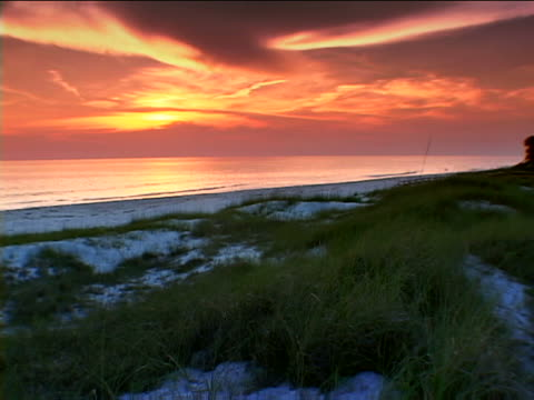 st. joseph: st. joseph peninsula state beach - florida us state stock videos and b-roll footage