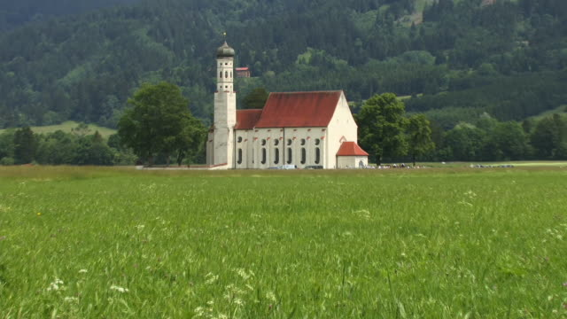 WS, ZI, St. Koloman Church, Schwangau, Bavaria, Germany