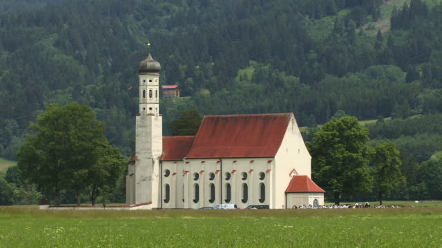 WS, St. Koloman Church, Schwangau, Bavaria, Germany